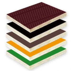 Wear-resistant and moisture-proof film faced plywood