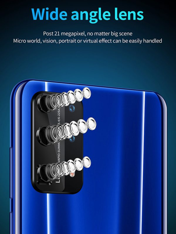 The best cellphone for 2020 P43 Pro Android Smartphone   HD three shot   AI face recognition   26MP Camera  64GB of Storage   Gradients / Aurora color / Vitality orange / Gentleman black