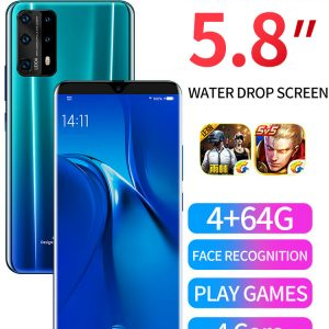 The best cellphone for 2020 P43 Pro Android Smartphone | HD three shot | AI face recognition | 26MP Camera |64GB of Storage | Gradients / Aurora color / Vitality orange / Gentleman black