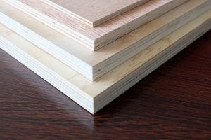 Hardwood core easy-cut multi-purpose commercial plywood