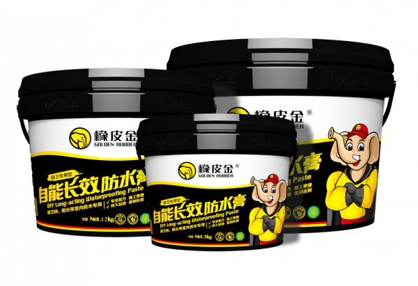 Golden Rubber dry long-acting waterproofing paste for kitchens and bathrooms