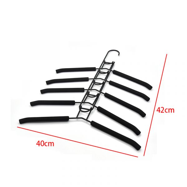 Multi Layers Cloths Hanger 5 Layer Space Saving Magic Metal Clothes Hangers