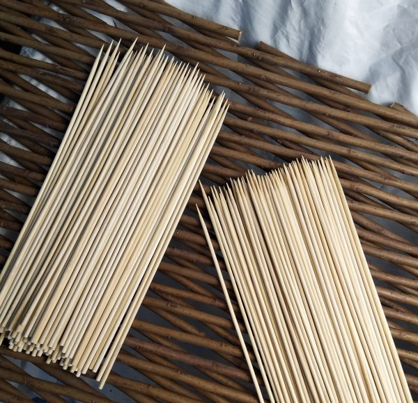 Wholesale 100% Natural Bamboo Fruit Food Picks Skewers for BBQ