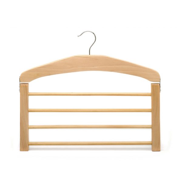 4 layers pants hanger with round bar