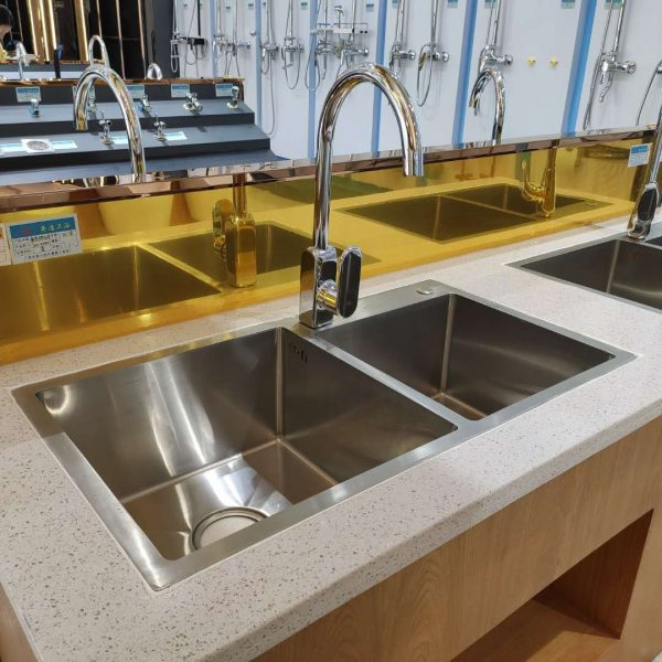 LSN-A4961 Family Hotel Silver Kitchen Faucet